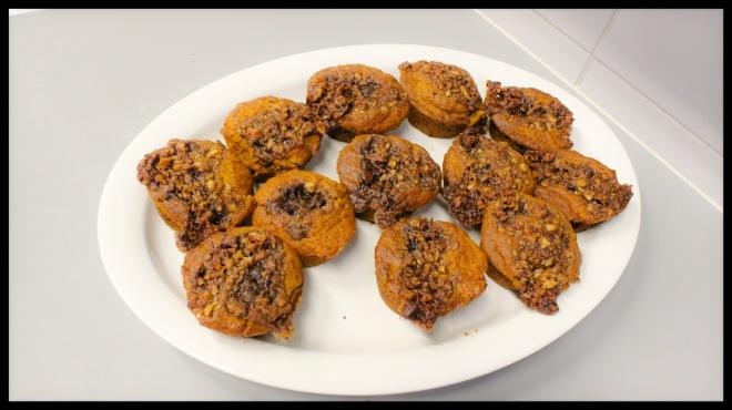 Valmiit muffinssit.